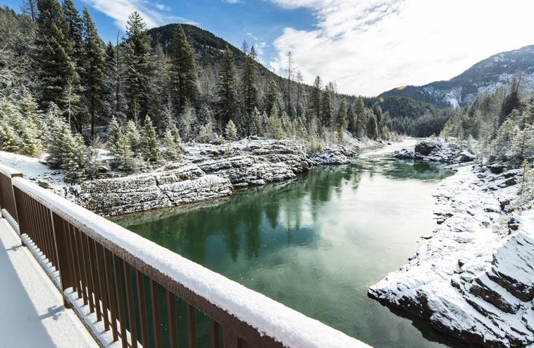 Glacier National Park In Winter Glacier Park Collection