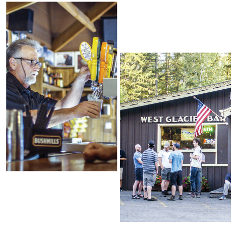 Shopping, Dining at West Glacier Village, Glacier National Park