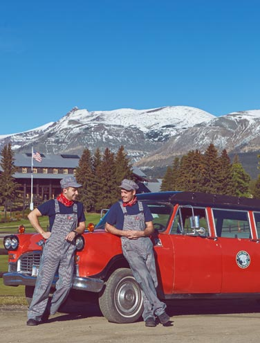 Day in the Life of a Bellman at Glacier Park Lodge