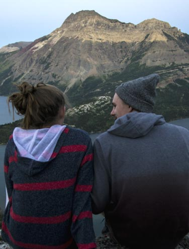 Hiking the Bear's Hump, Waterton National Park