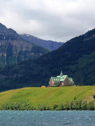 Prince of Wales Hotel: if it isn't windy, it isn't Waterton