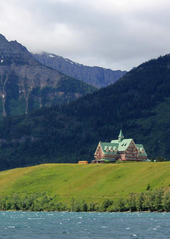 The Prince Of Wales Hotel In Waterton Alberta