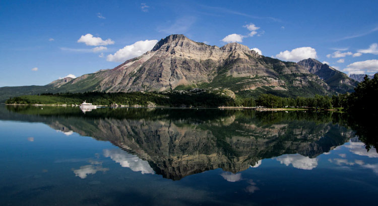 Waterton Lake Reflections