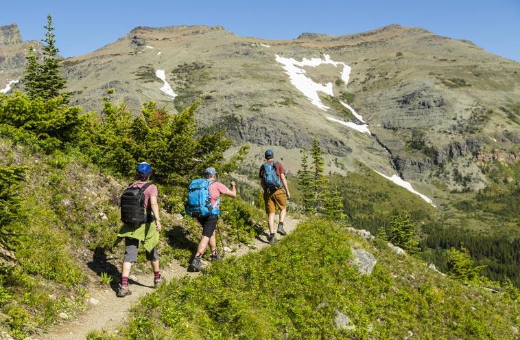 Hiking Season Iconic Trails Of Glacier National Park