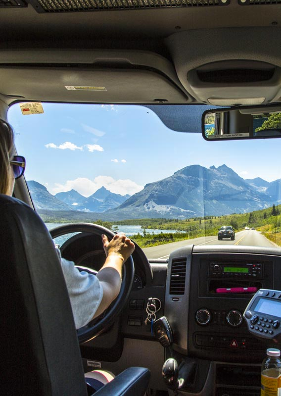 Getting Around Glacier Country Trains Cars Shuttles And
