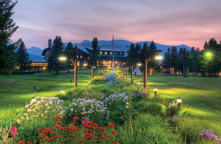 Gardens Of East Glacier Perennial Beauty At Glacier Park
